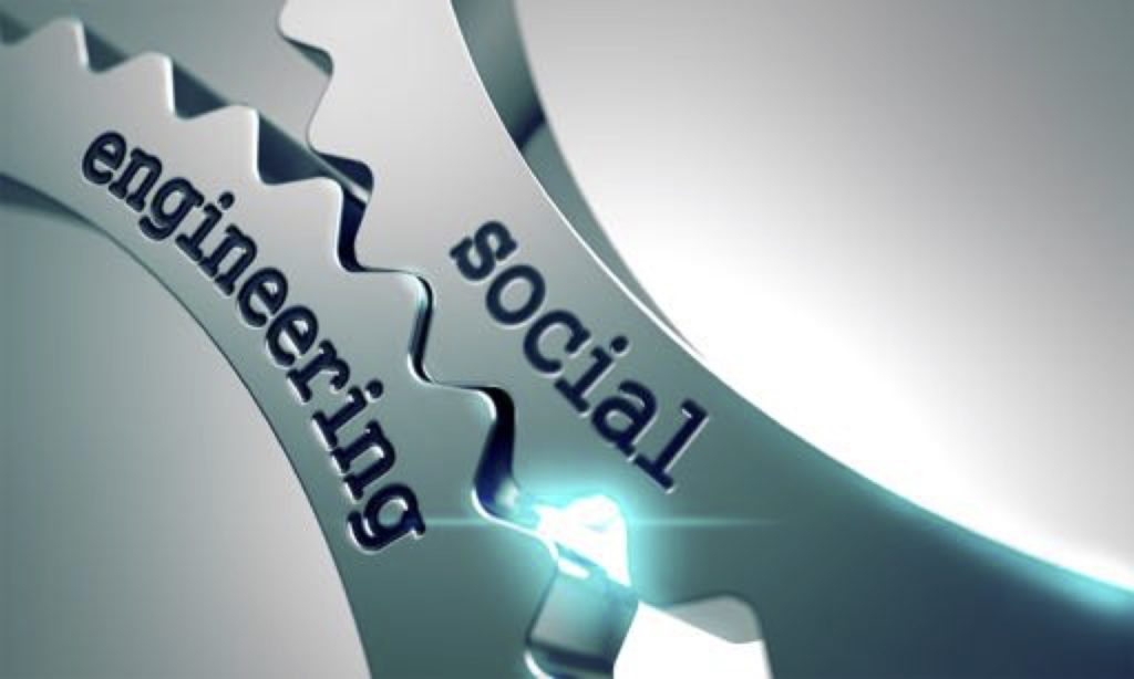 Image of gears that say Social Engineering