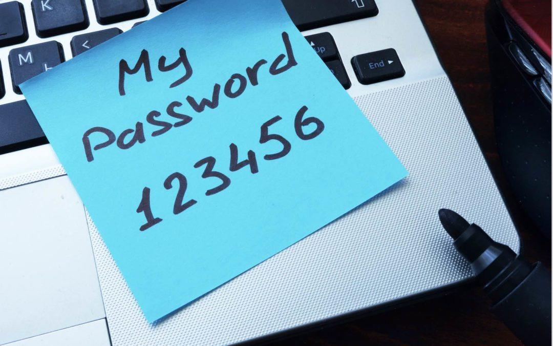 HIPAA Tip: Password Security