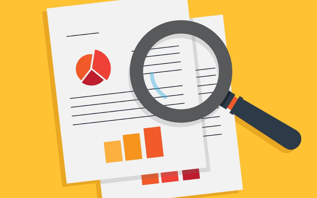 Graphic that says How to: Due Diligence, with an image of a magnifying glass over documents.