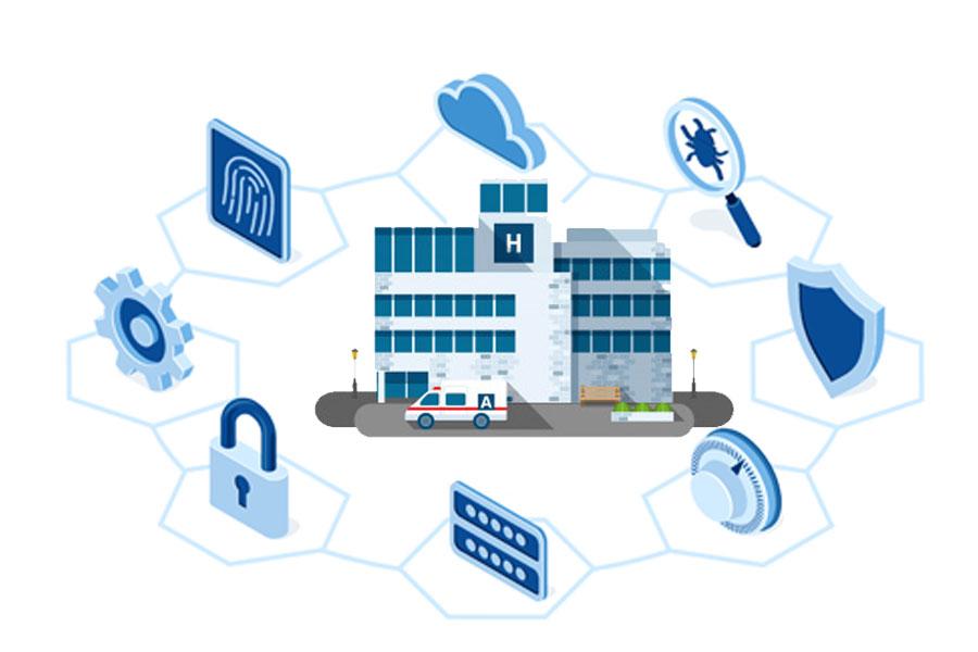 HIPAA Hospital Vector