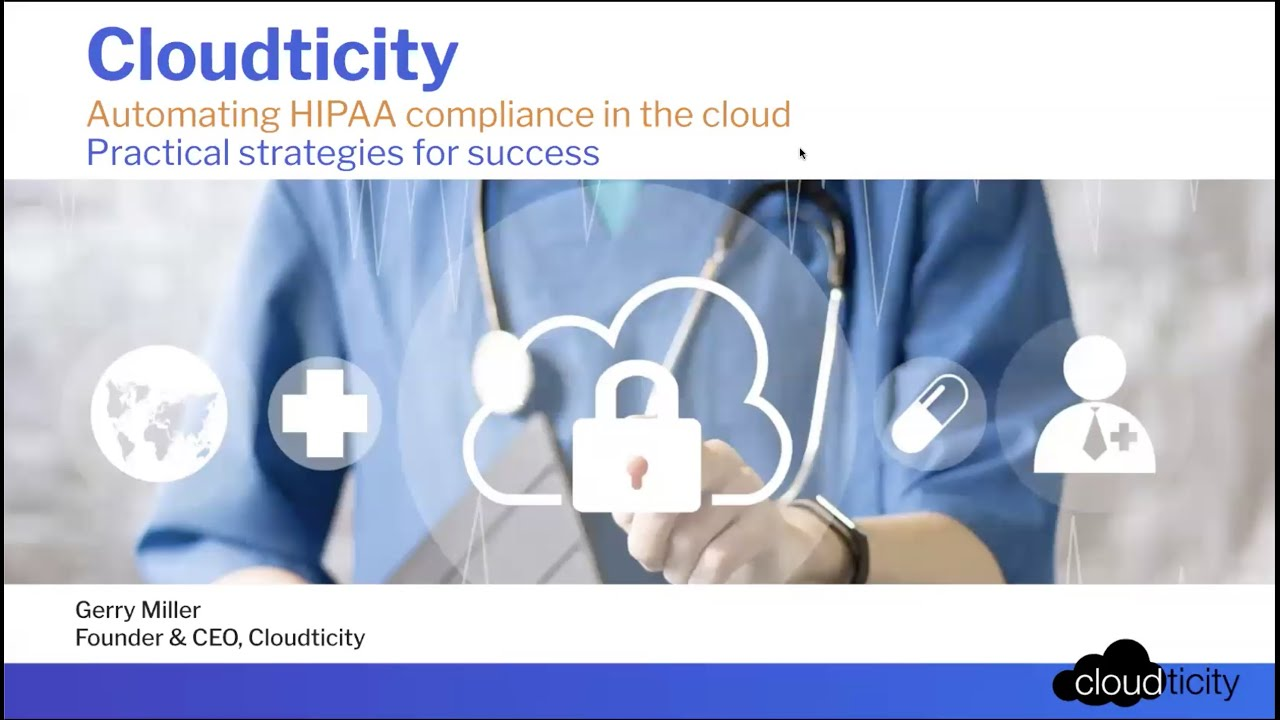 Automating HIPAA Compliance In Cloud For Success
