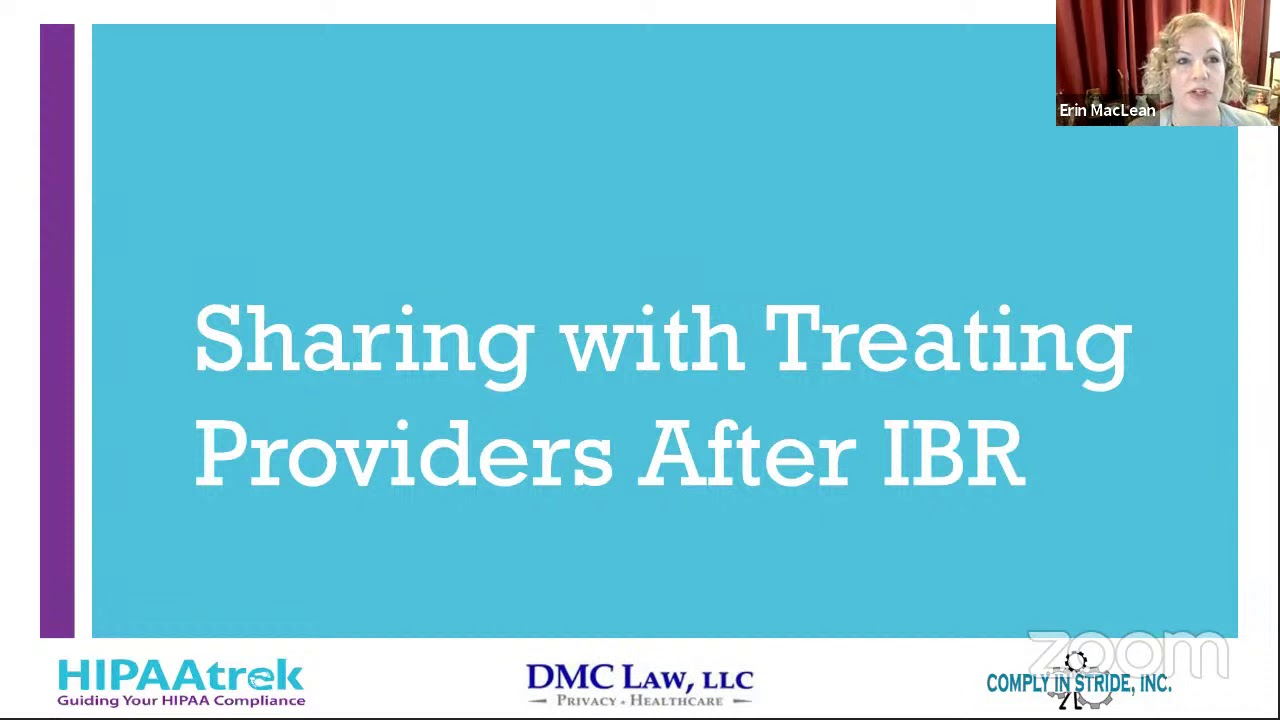 Sharing With Providers After IBR
